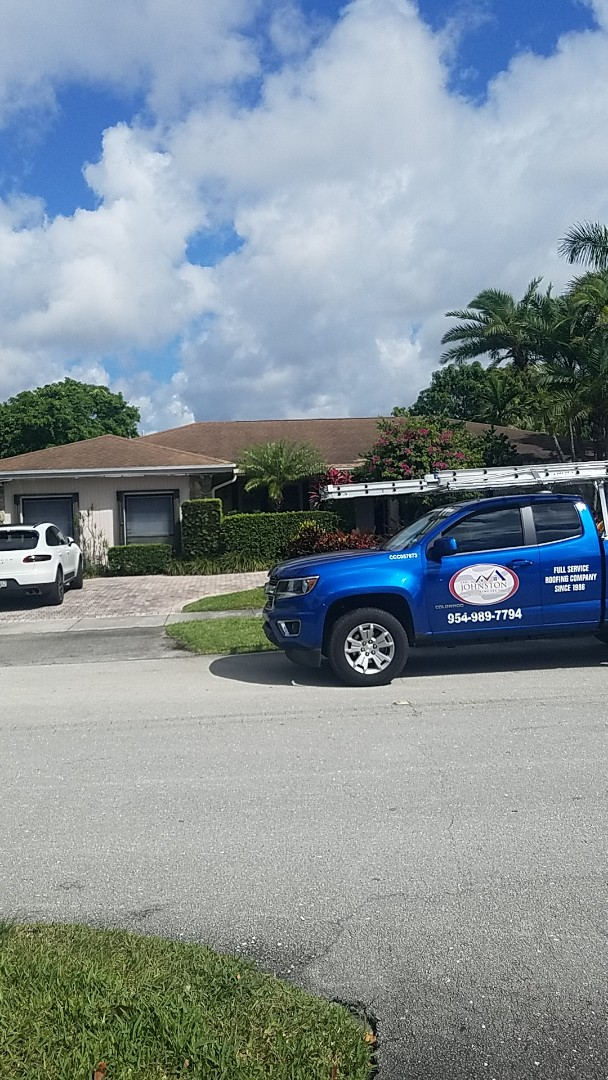 North Miami Beach, FL - Shingle leak and skylight replacement repair estimate by Earl Johnston Roofing Company