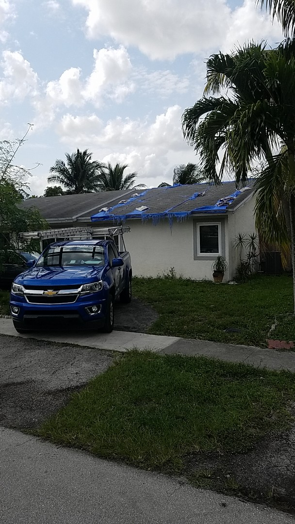 North Lauderdale, FL - GAF timberline HD shingles reroof estimate by Aj from Earl Johnston Roofing Company