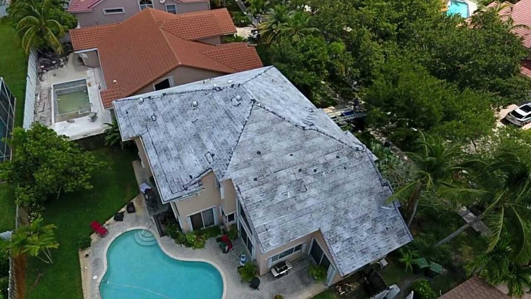Pembroke Pines, FL - Eagle Malibu tile re-roof using Tag N Stick tile underlayment in Pembroke Pines Florida