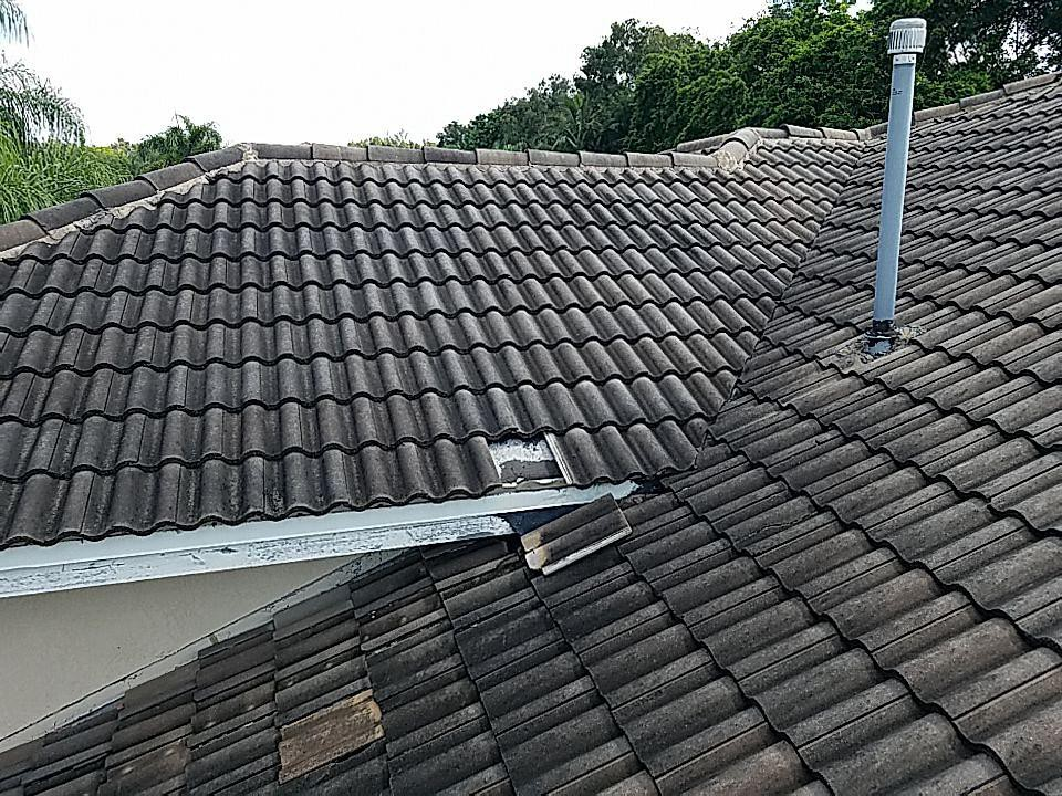 Tile re-roof estimate in Pembroke Pines Florida