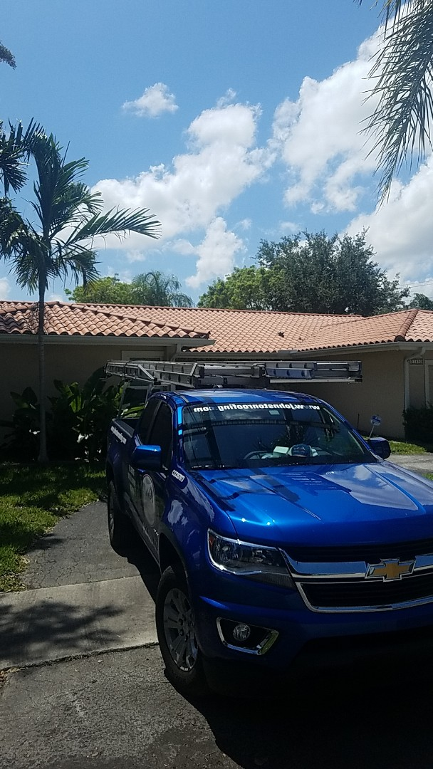 Miami, FL - Tile roof repair estimate by Aj from Earl Johnston Roofing Company