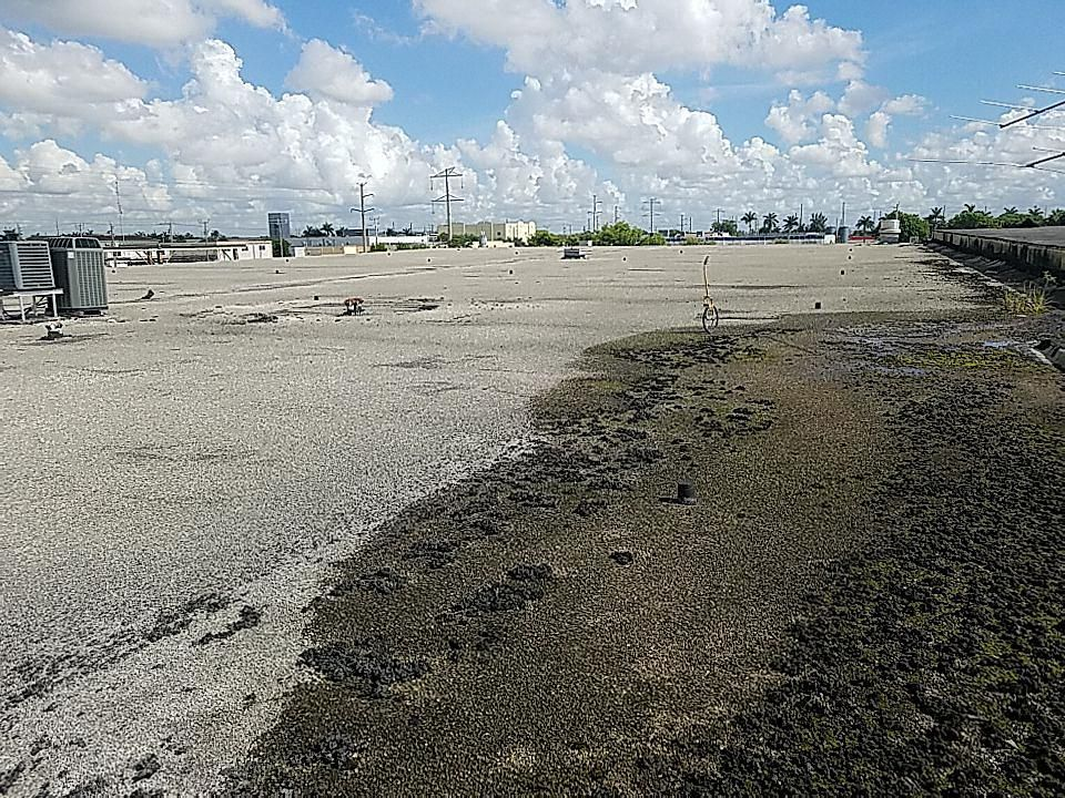 Gaf Everguard TPO  commercial reroof estimate in Doral, FL