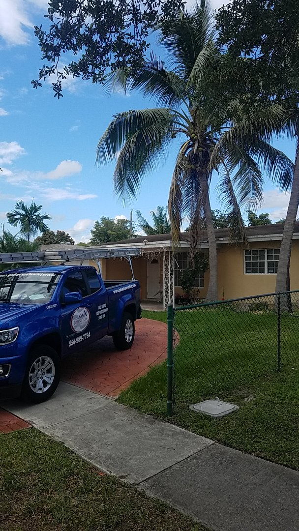 Hollywood, FL - GAF timberline HD shingles reroof estimate by Aj from Earl Johnston Roofing Company