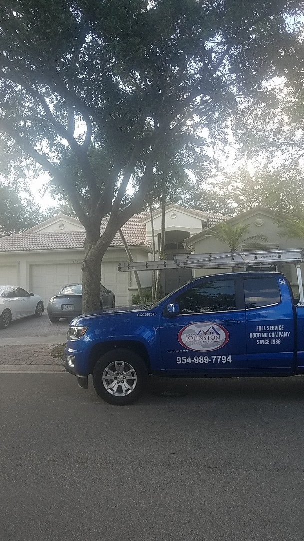 Coconut Creek, FL - Eagle Malibu tile reroof estimate by Aj from Earl Johnston Roofing Company
