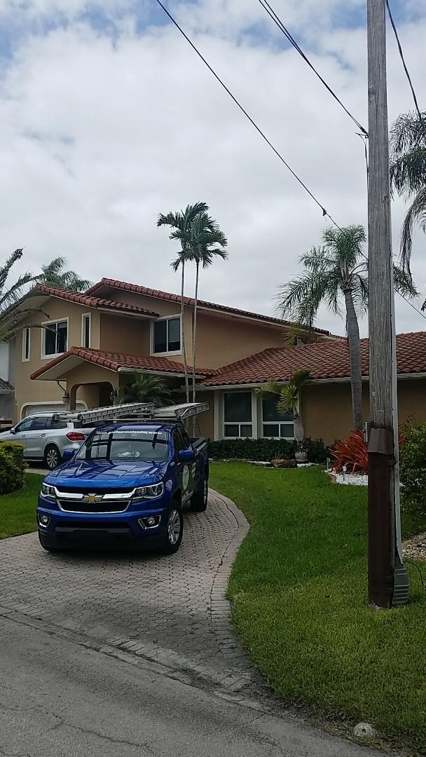 North Miami Beach, FL - Eagle capistrano tiles reroof estimate by Aj from Earl Johnston Roofing Company