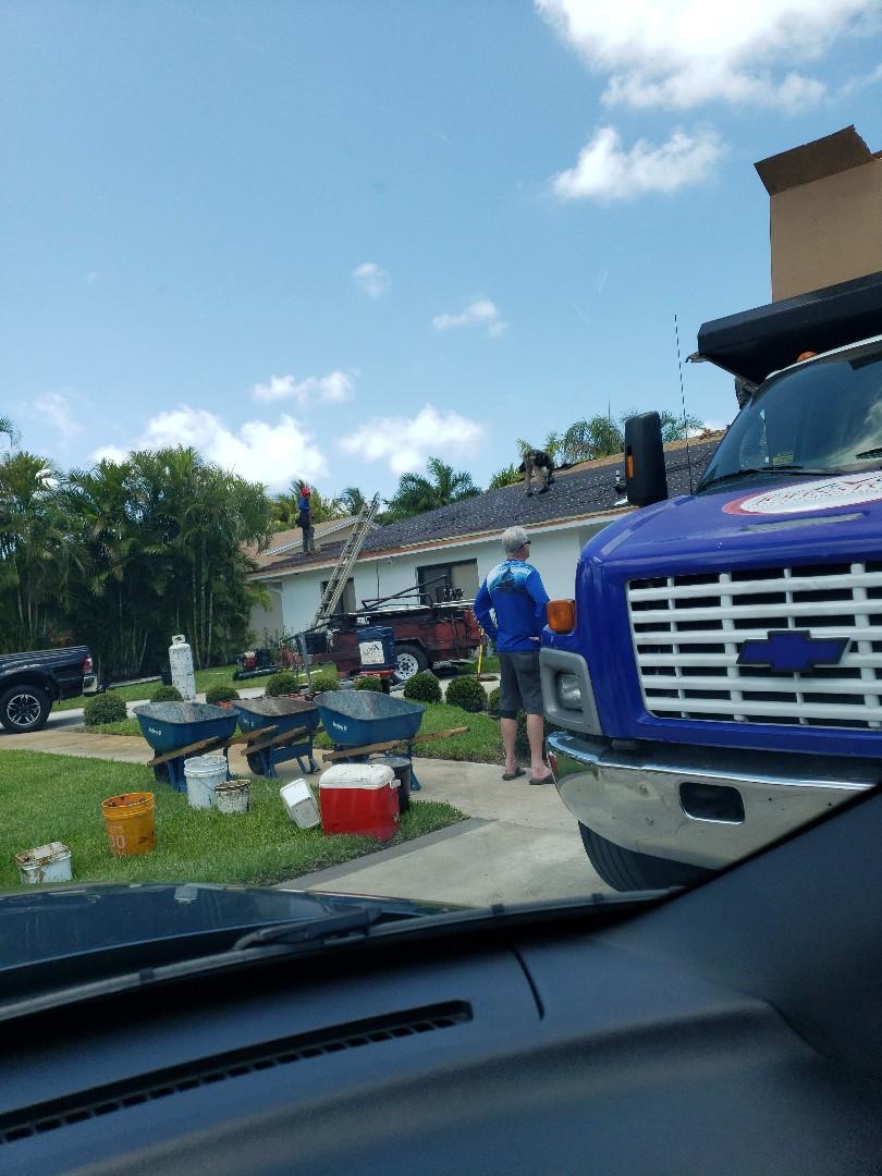 North Miami Beach, FL - Getting the job done