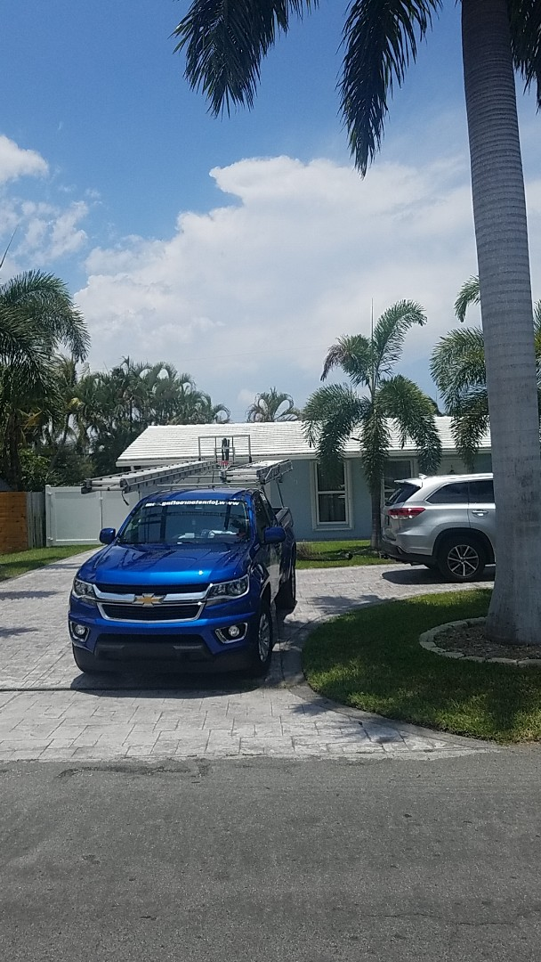 Deerfield Beach, FL - GAF Mineral Cap Sheet flat roof replacement estimate by Earl Johnston Roofing Company