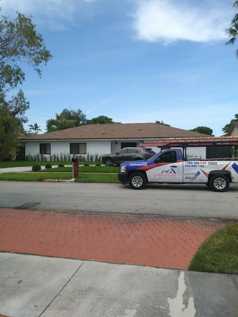 North Miami Beach, FL - Finished gaf timberline shingle and flat roofs by earl w Johnston roofing llc