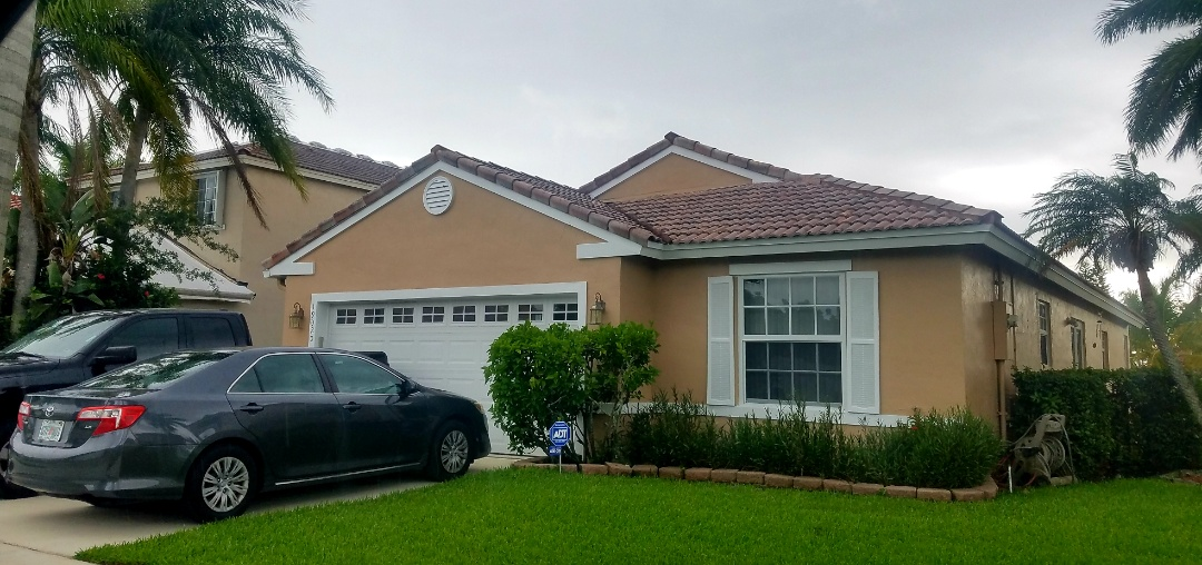 Pembroke Pines, FL - Tile re-roof with Tag n Stick underlayment is signed up in Pembroke Pines Florida