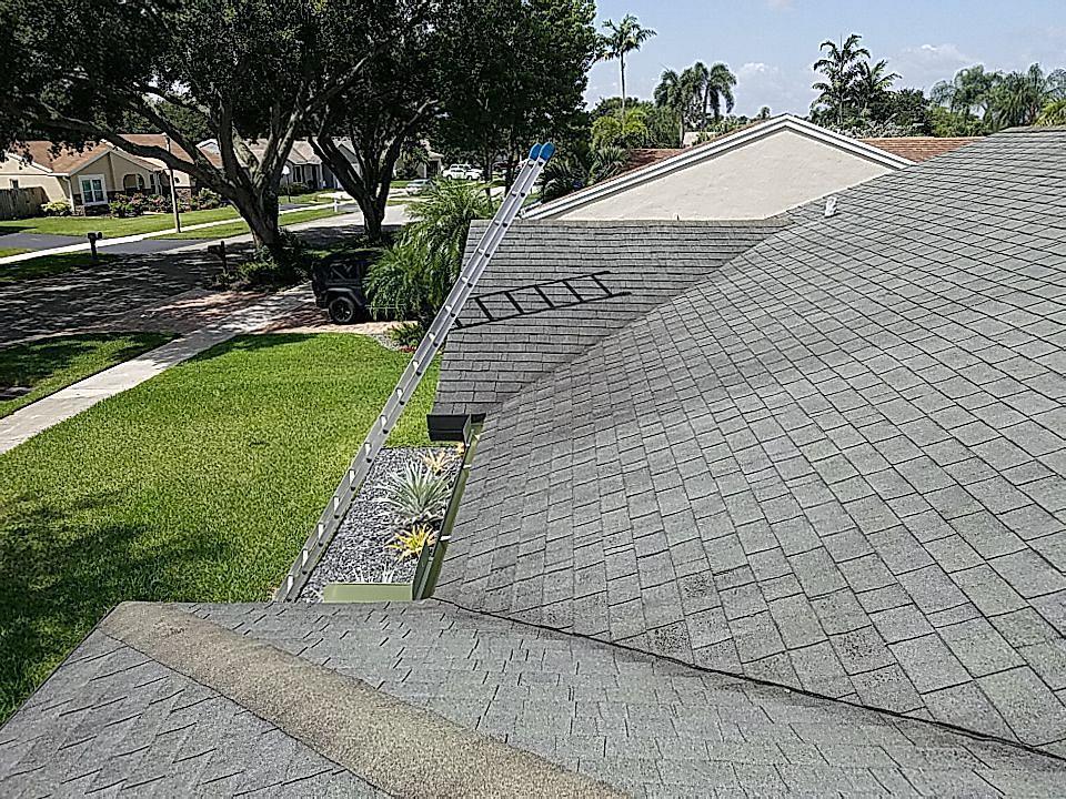 Cooper City, FL - Gaf Timberline hd shingle re-roof estimate in Cooper City Florida