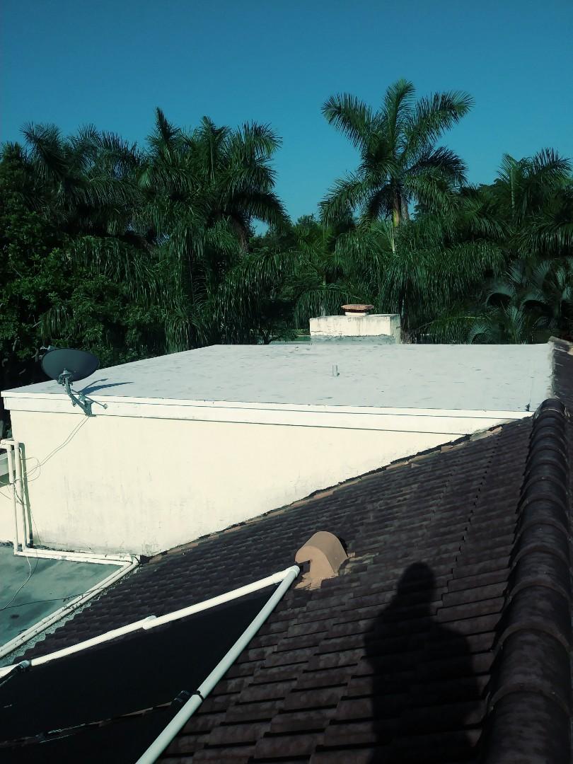 Plantation, FL - Finished gaf flat roof by earl w Johnston roofing llc