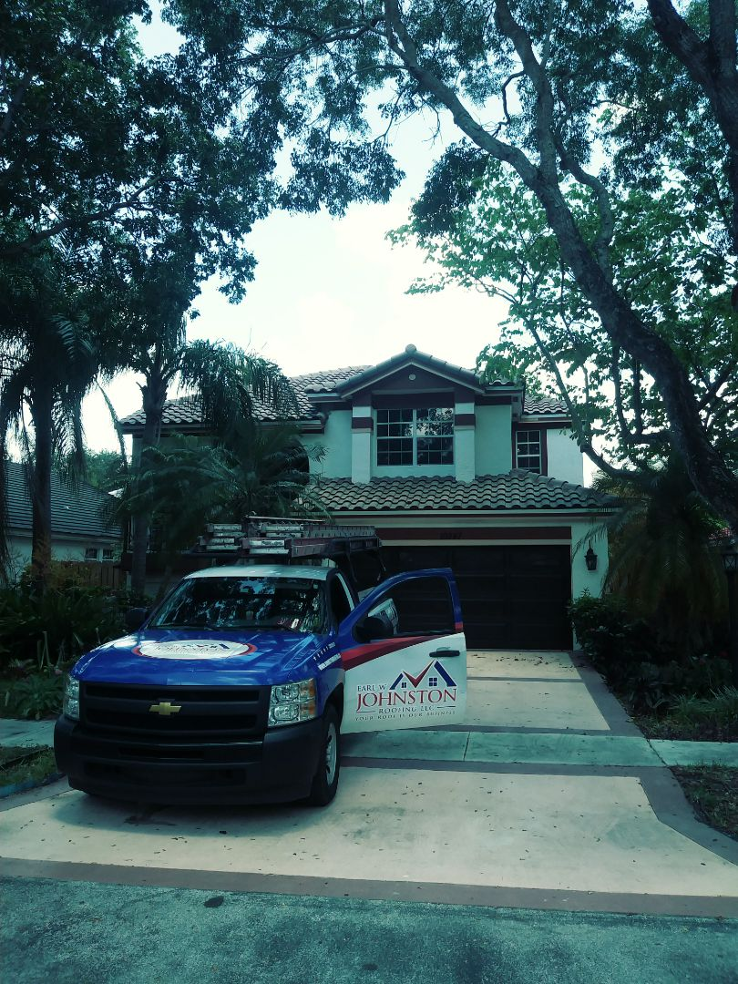 Hollywood, FL - Finished eagle capistrano concrete roof tile by earl w Johnston roofing llc