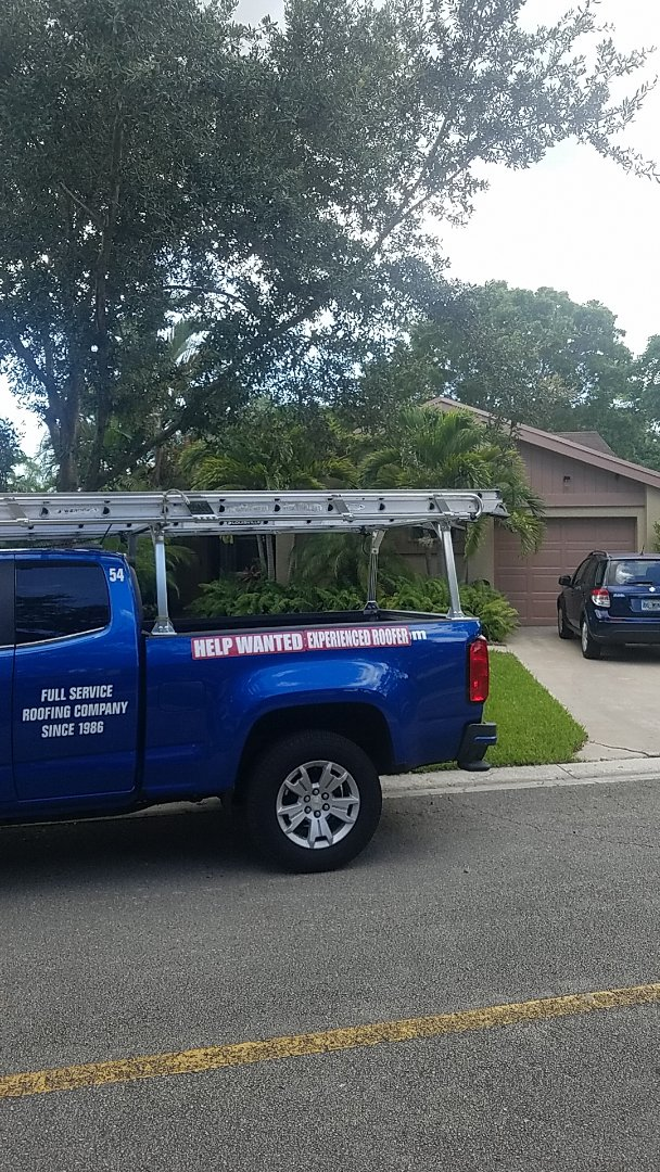 Coconut Creek, FL - GAF timberline HD shingles golden pledge warranty estimate by Earl Johnston Roofing Company