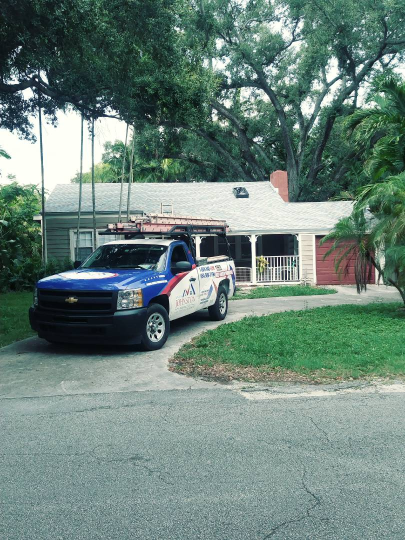 Biscayne Park, FL - Finished gaf timberline shingle roof by earl w Johnston roofing llc