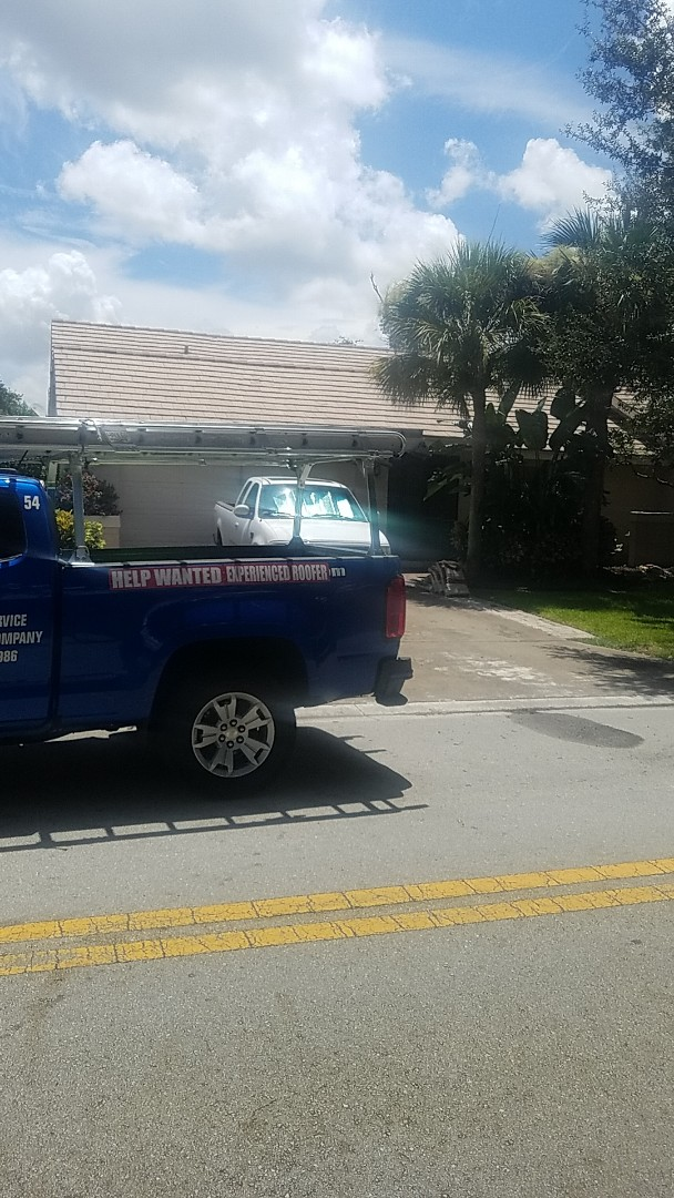 Coral Springs, FL - Eagle Malibu tiles reproof estimate by Aj from Earl Johnston Roofing Company