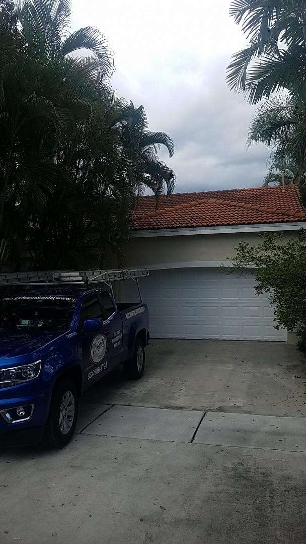 Hialeah, FL - Tile roof leak repair estimate by Aj from Earl Johnston Roofing Company