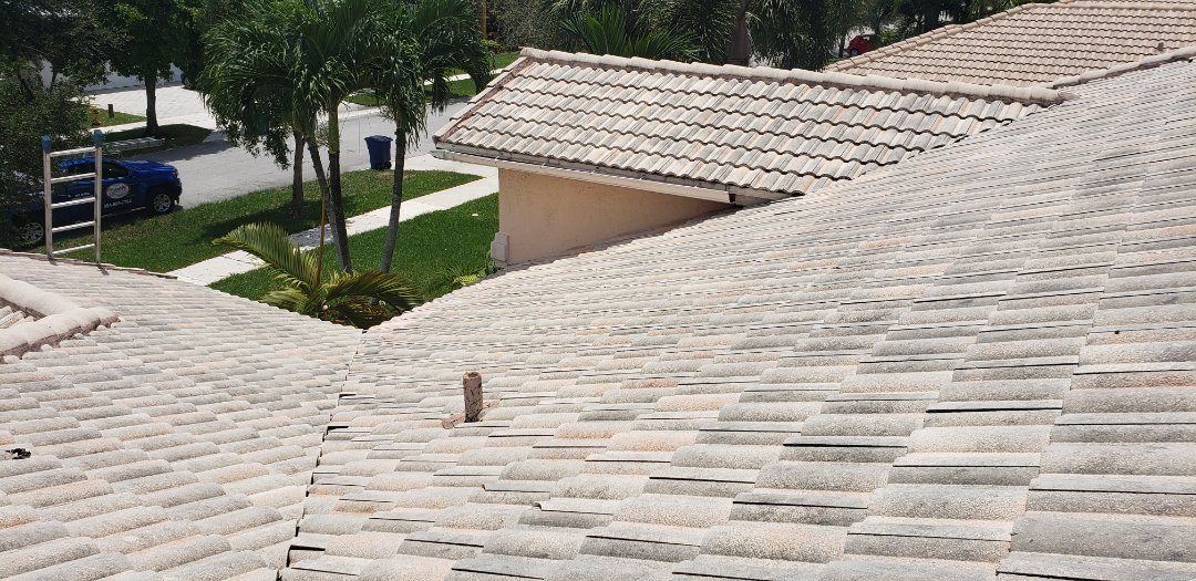 Cooper City, FL - Tile roof leak repair estimate in Cooper City, FL by Mike Wilde of Earl Johnston Roofing