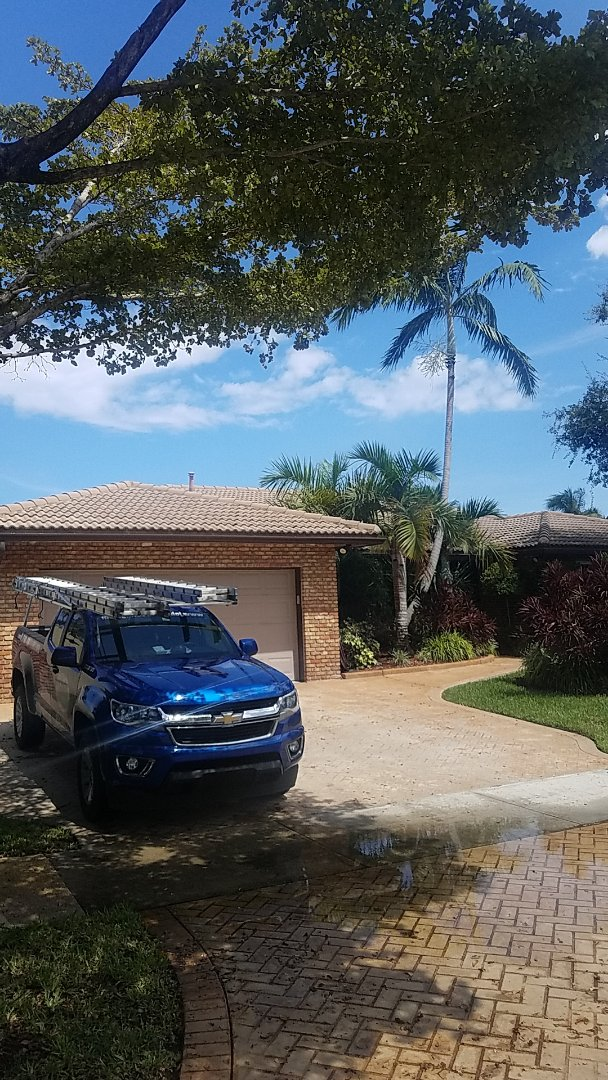 Miami, FL - Tile roof leak repair estimate by Aj from Earl Johnston Roofing Company