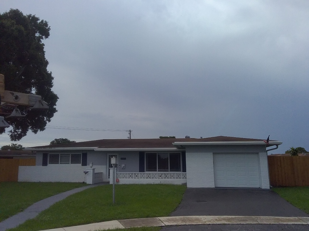 Plantation, FL - Located leak in Pembroke Pines by Duane & Oliver from Earl W. Johnston Roofing