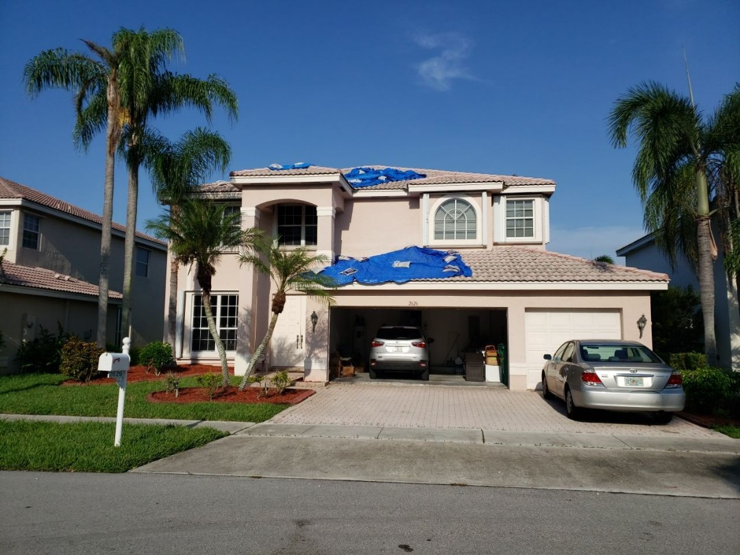 Miramar, FL - Eagle Malibu tile re-roof estimate in Miramar, FL by Mike Wilde of Earl Johnston Roofing