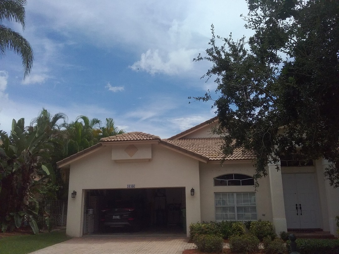 Weston, FL - A finished roof repair in Weston by Duane and Oliver from Earl W. Johnston Roofing