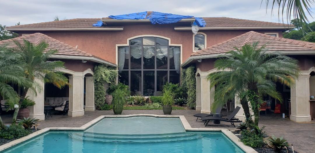Plantation, FL - Tile re-roof estimate in Plantation, FL by Mike Wilde of Earl Johnston Roofing