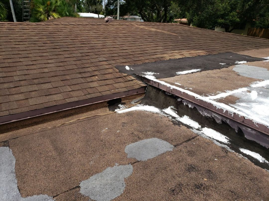 Plantation, FL - Gaf Timberline hd shingle and flat re-roof estimate in Plantation, FL by Mike Wilde of Earl Johnston Roofing
