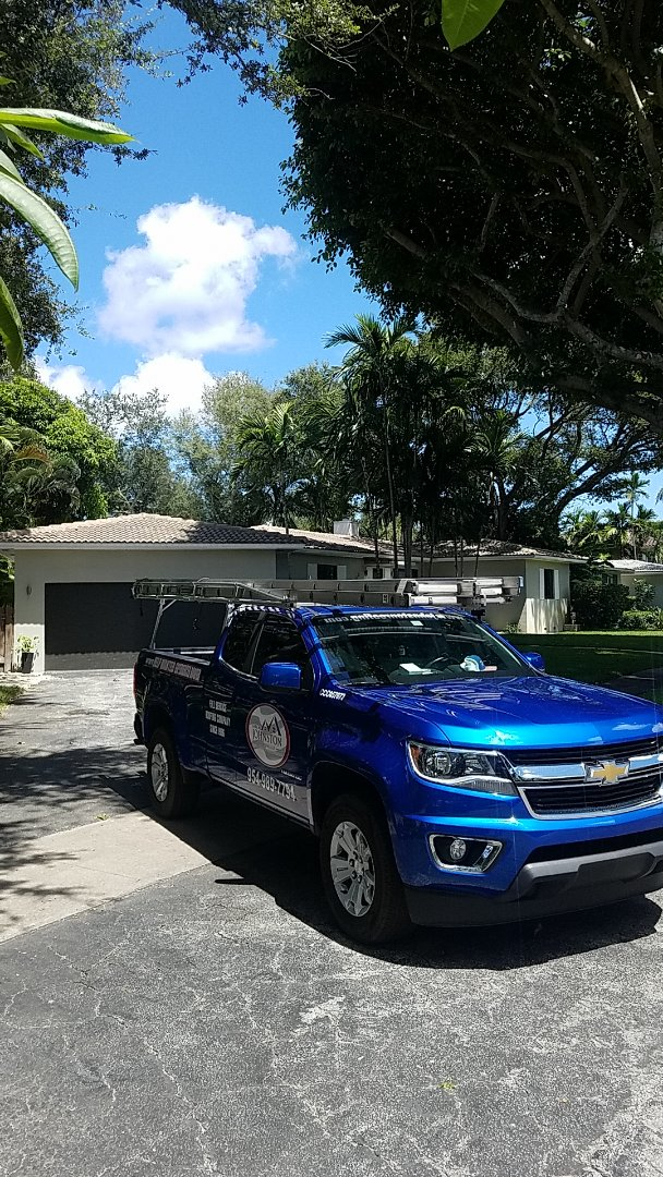 Miami Shores, FL - Flat roof leak repair estimate by Aj from Earl Johnston Roofing Company