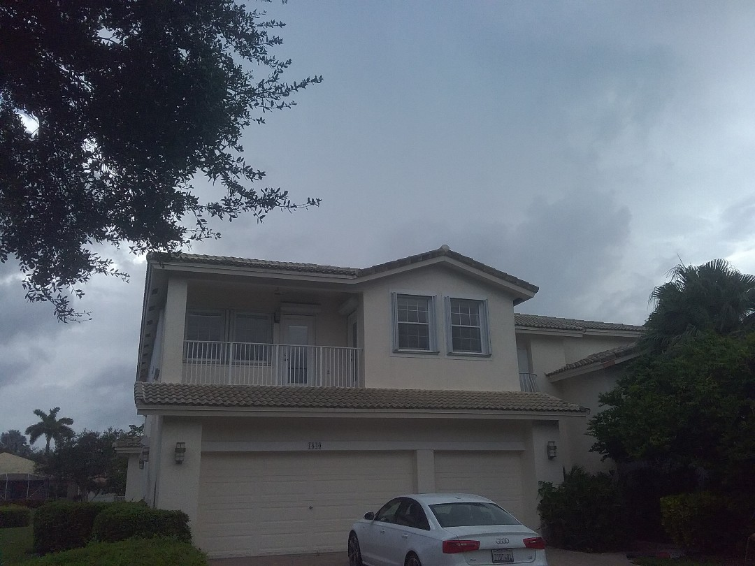 A finished roof repair in Pembroke Pines by Duane, Oliver, Israel and Alexis from Earl W Johnston Roofing
