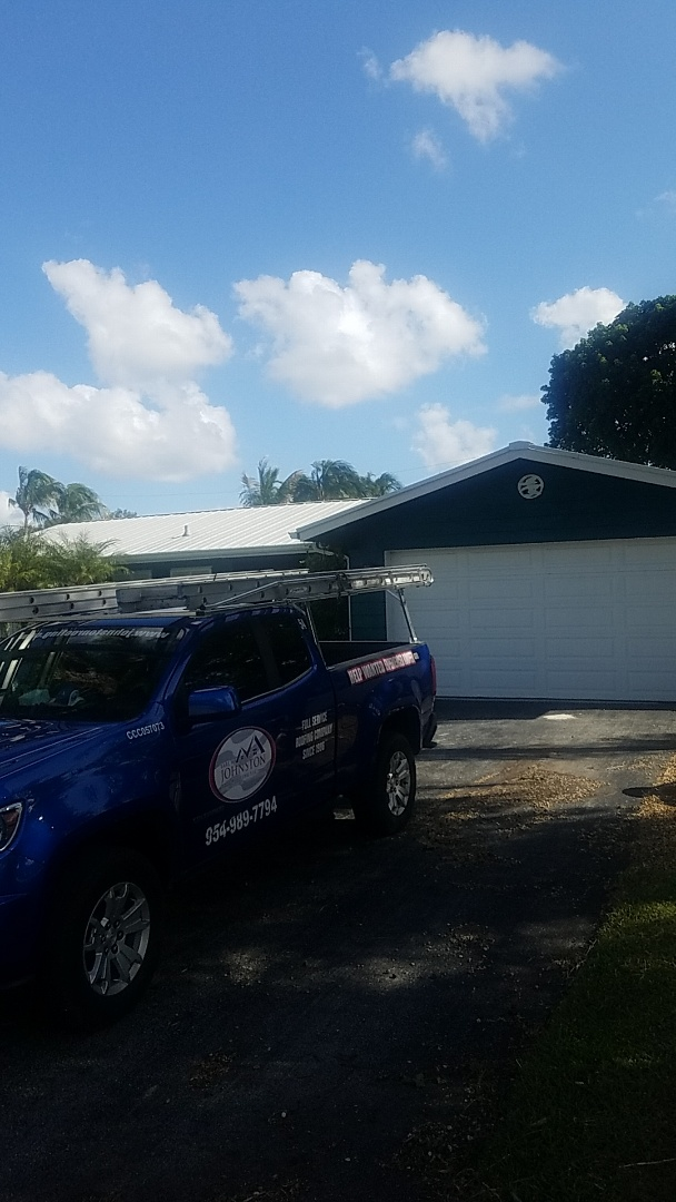 Lighthouse Point, FL - Fascia board replacement estimate by Aj from Earl Johnston Roofing Company