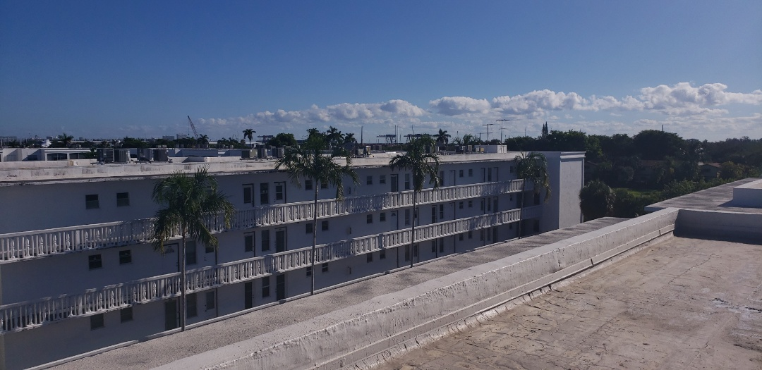 Dania Beach, FL - Gaf Everguard TPO commercial reroof estimate in Dania Beach, FL by Mike Wilde of Earl Johnston Roofing