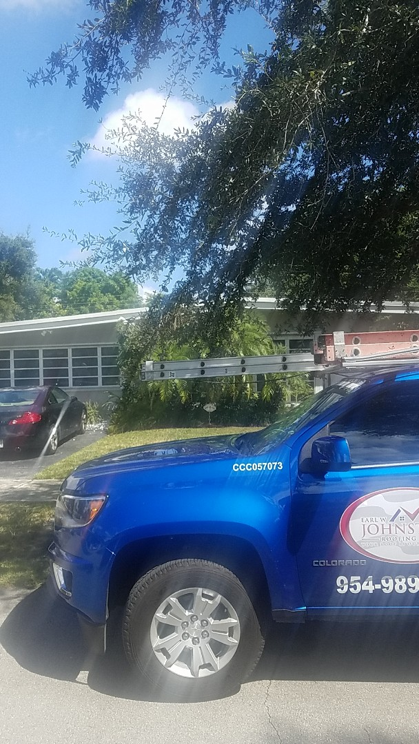North Miami, FL - GAF Mineral Cap Sheet flat roof replacement estimate by Aj from Earl Johnston Roofing Company