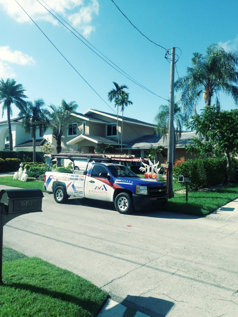 North Miami Beach, FL - Finished eagle bel air concrete flat roof tile by earl w Johnston roofing llc