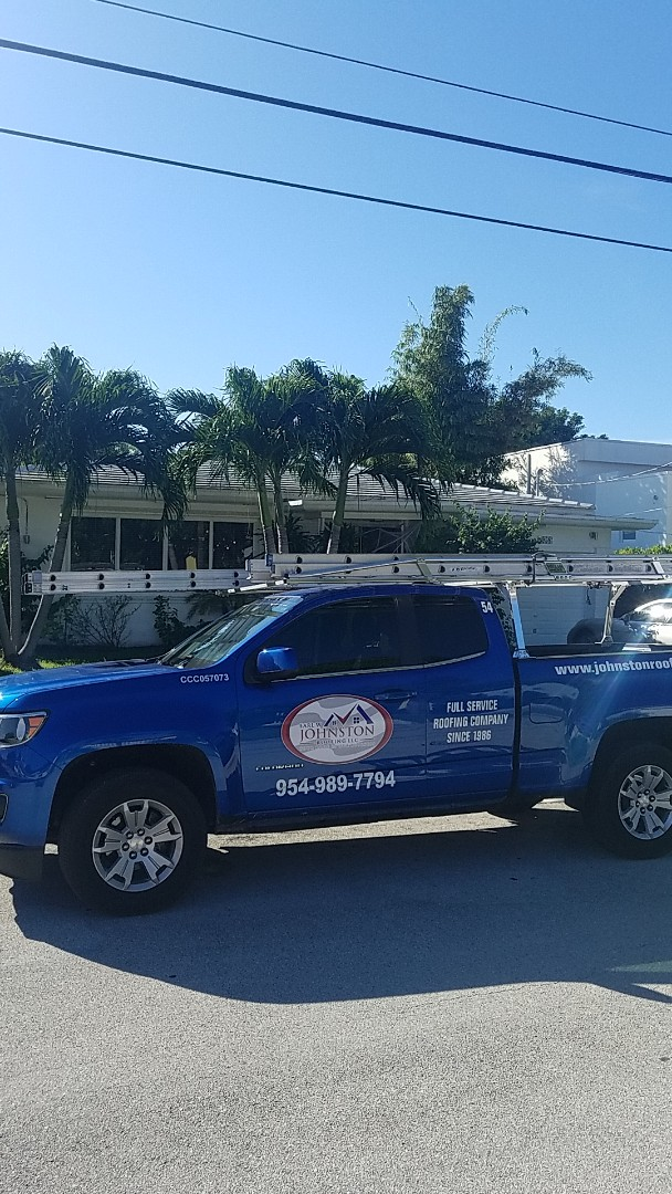 Surfside, FL - Gaf Mineral Cap Sheet flat roof replacement estimate by Aj from Earl Johnston Roofing Company