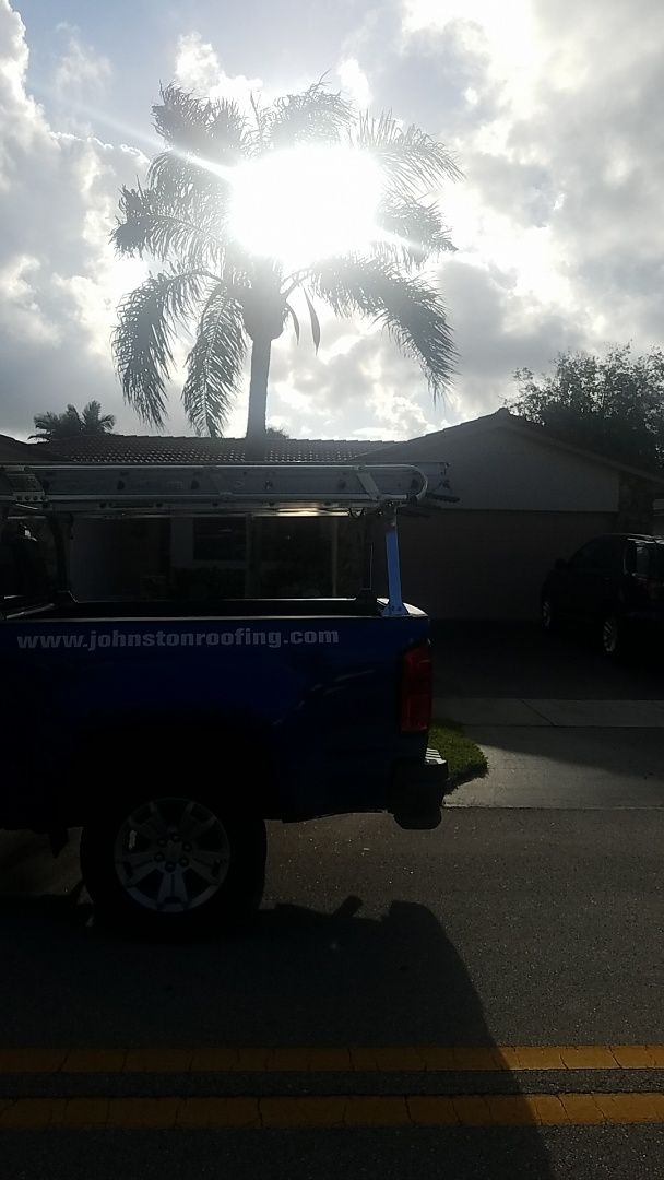 Margate, FL - Tile roof leak repair estimate by Earl Johnston Roofing Company