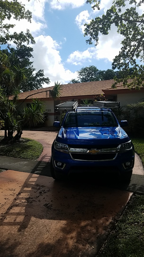 Hollywood, FL - Tile roof replacement estimate by Aj from Earl Johnston Roofing Company