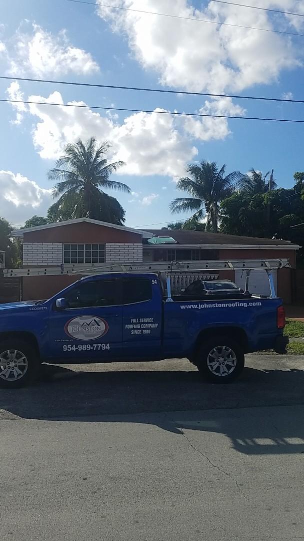 Hialeah, FL - GAF timberline HD shingles golden pledge warranty estimate by Aj from Earl Johnston Roofing Company