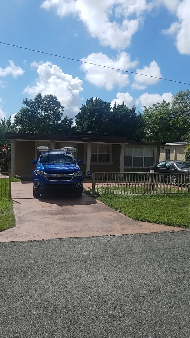 Hialeah, FL - Gaf Mineral Cap Sheet flat roof replacement estimate by Aj from Earl Johnston Roofing Company