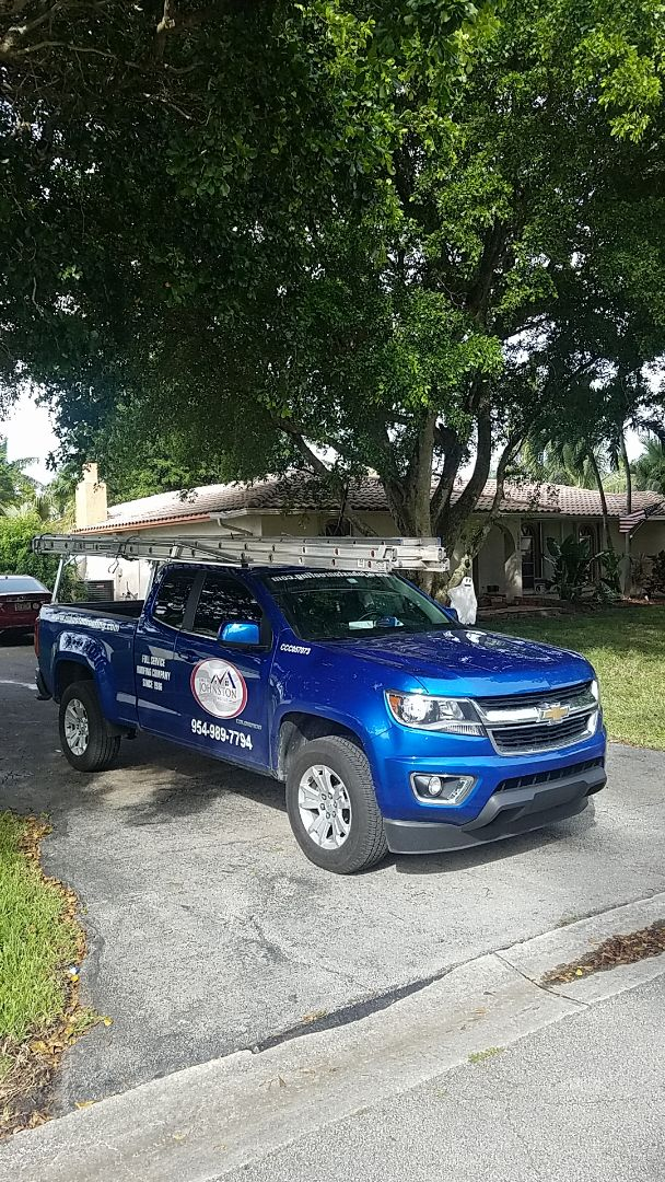 Coral Springs, FL - Gaf Mineral Cap Sheet flat roof replacement estimate by Aj from Earl Johnston Roofing Company