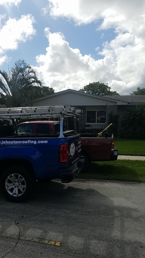 Coconut Creek, FL - GAF timberline HD shingles golden pledge warranty estimate by Aj from Earl Johnston Roofing Company