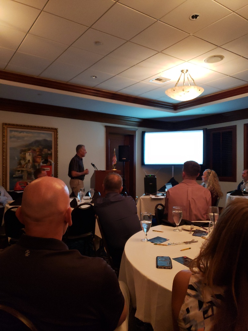 Monthly RCASF meeting, featuring technology in our industry.