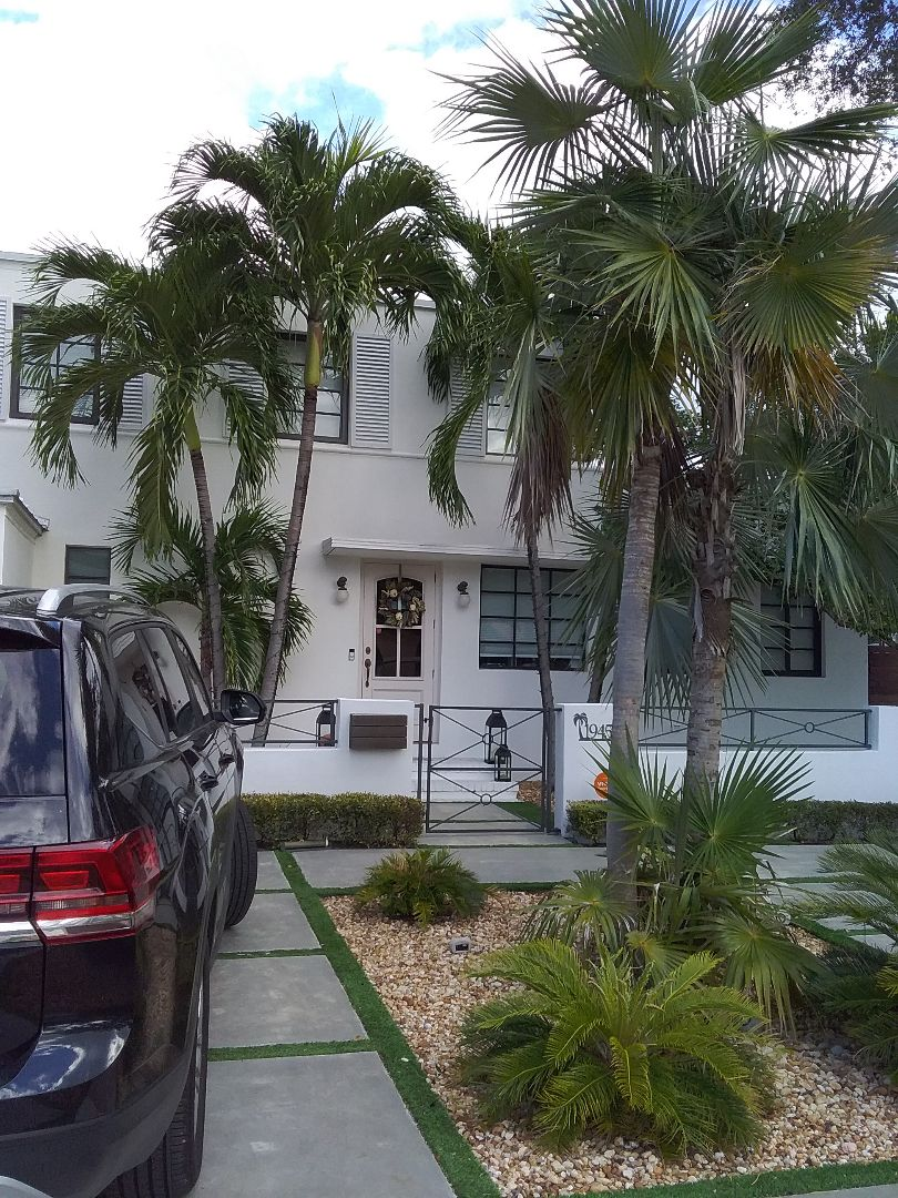 Miami, FL - Flat deck roof repair in the city of Miami Florida this repair is being done by Earl W Johnston roofing company Tony and Justin are you repair technicians