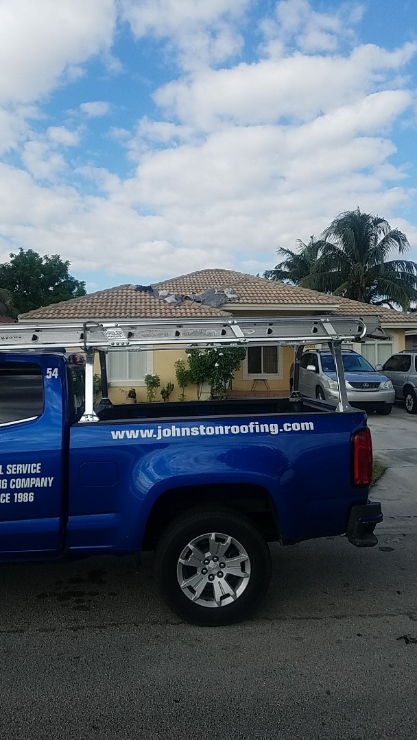 Miami Gardens, FL - Tile roof leak repair estimate by Aj from Earl Johnston Roofing Company