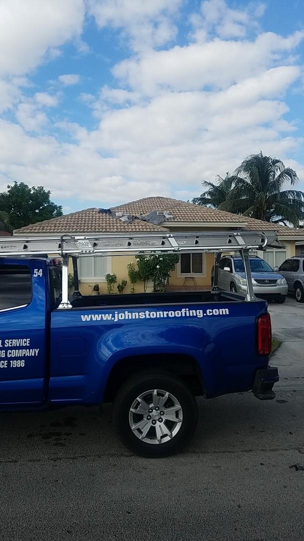 Tile roof leak repair estimate by Aj from Earl Johnston Roofing Company