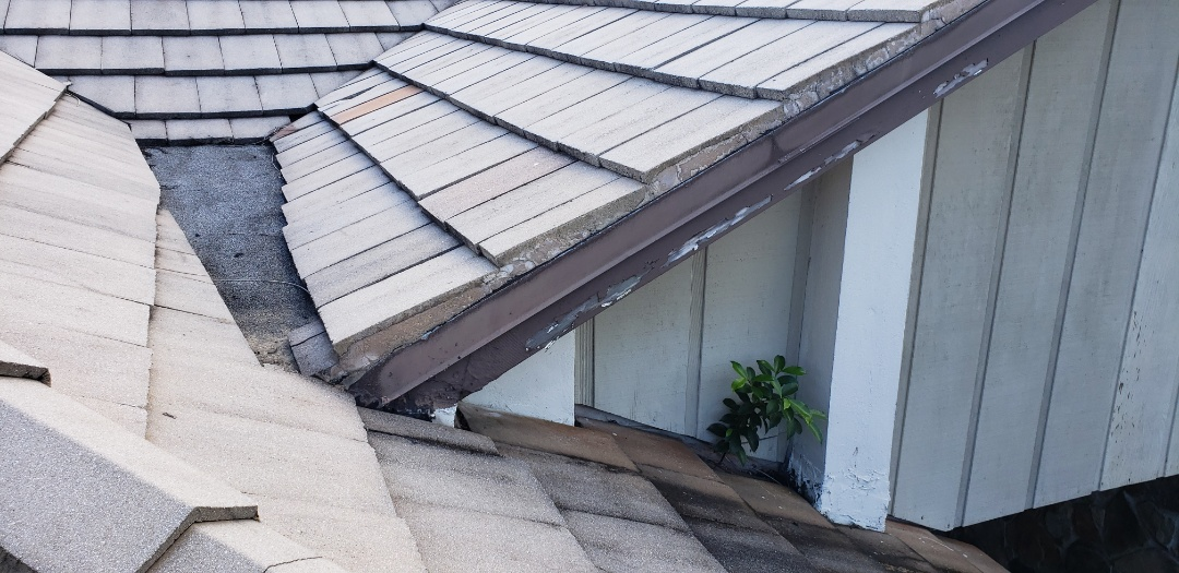Plantation, FL - Tile roof leak repair estimate in Plantation, FL by Mike Wilde of Earl Johnston Roofing