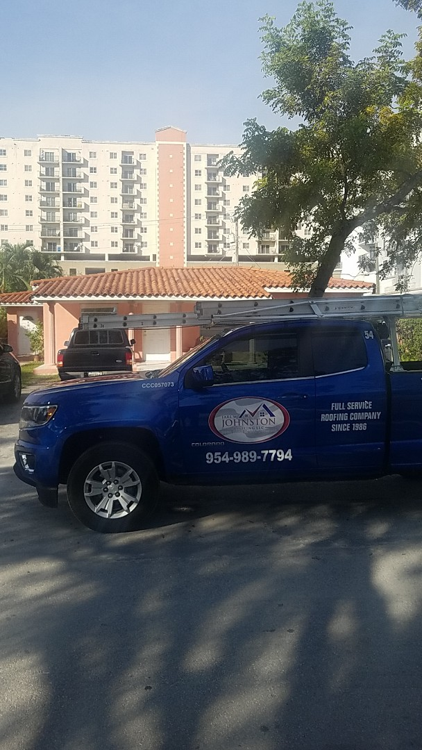 West Miami, FL - Tile roof leak repair estimate by Aj from Earl Johnston Roofing Company