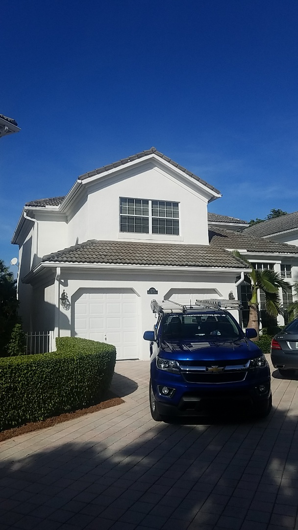 Aventura, FL - Tile roof repair and roof a cider treatment estimate by Aj from Earl Johnston Roofing Company