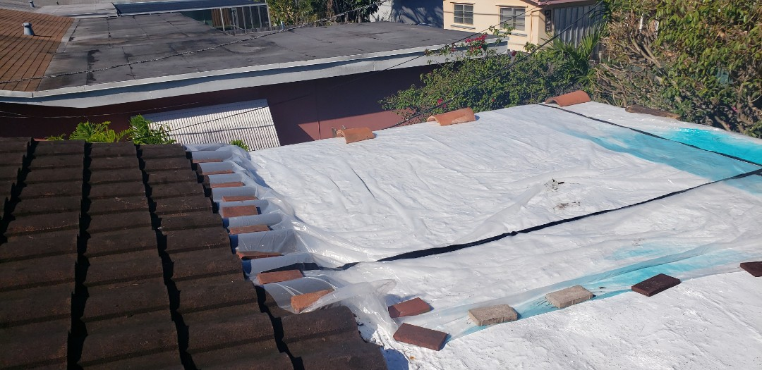 Cooper City, FL - Gaf Everguard TPO flat reroof estimate in Cooper City Florida by Mike Wilde of Earl Johnston Roofing