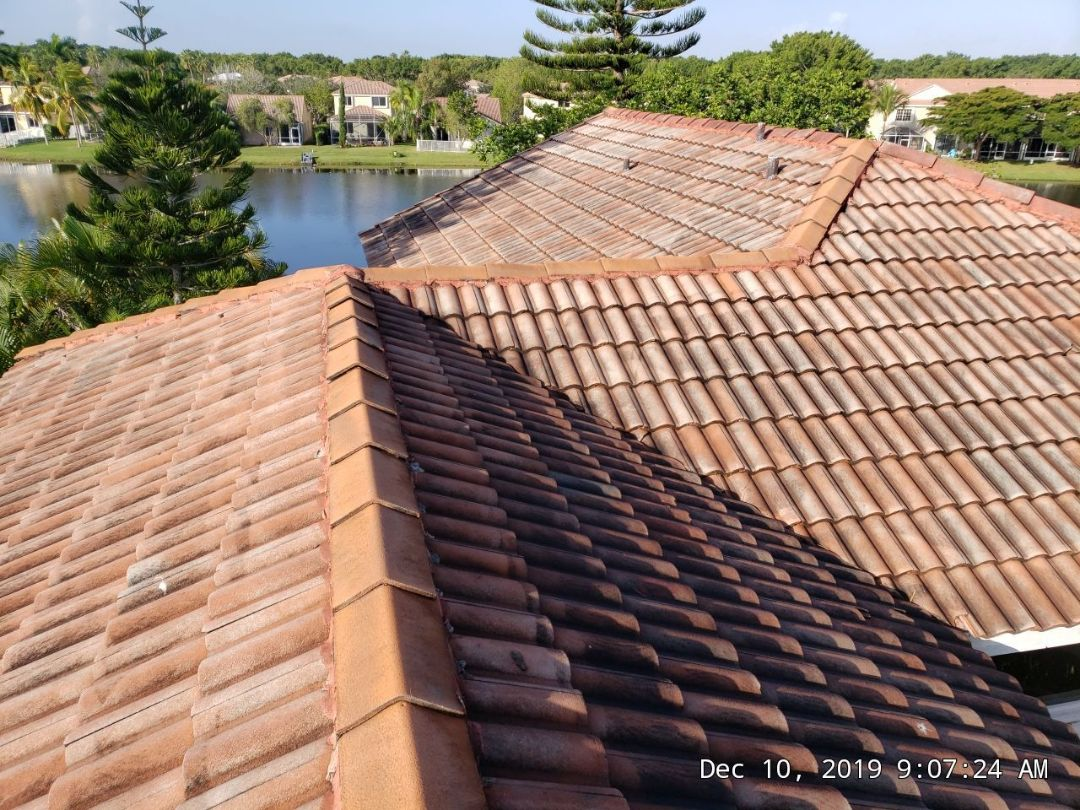 Weston, FL - Tile roof replacement estimate in Weston,FL by Mike Wilde of Earl Johnston Roofing