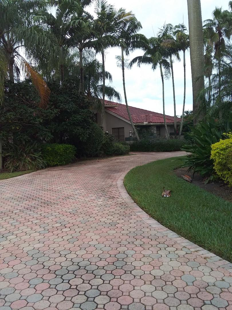 Davie, FL - Roof tile repair in the city of Davie Florida this repair is being done by Earl W Johnston roofing company Tony and Regis are your repair technicians